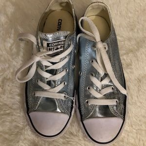 Girls converse sparkly shoes